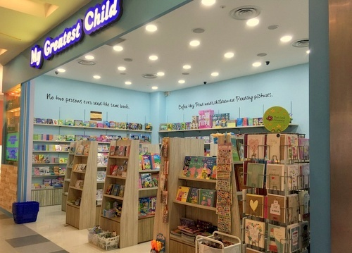 My Greatest Child book & toy store NEX Singapore.