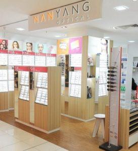 Nanyang Optical store Singapore.