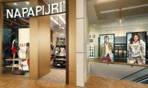 Napapijri clothing store Capitol Piazza Singapore.