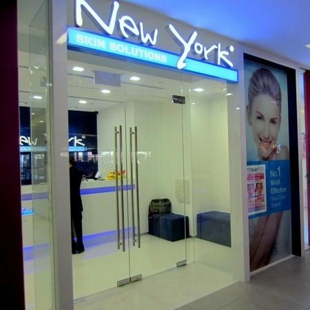 New York Skin Solutions NEX Singapore.