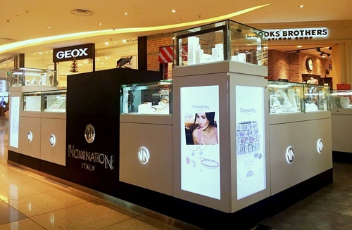 Nomination jewelry shop VivoCity Singapore.