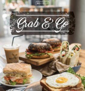 Oriole Coffee + Bar Grab & Go meal.