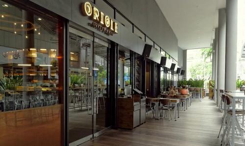Oriole Coffee + Bar Somerset Singapore.