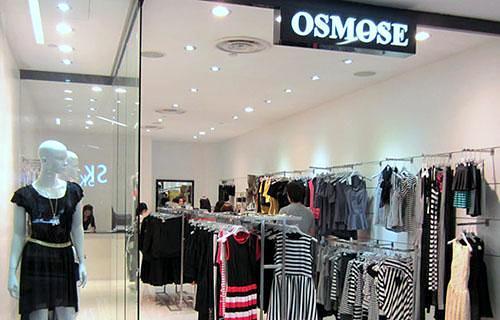 OSMOSE clothing store NEX Singapore.