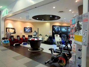 OTO Bodycare store NEX Singapore.