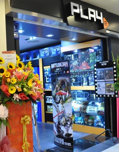 PLAYe game store Hougang Mall Singapore.