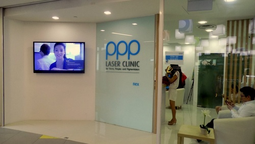 PPP Laser Clinic NEX Singapore.