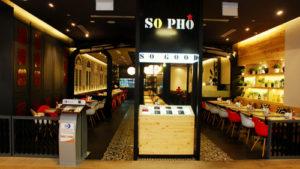 So Pho Vietnamese restaurant.