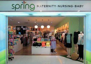Spring Maternity & Baby store NEX Singapore.