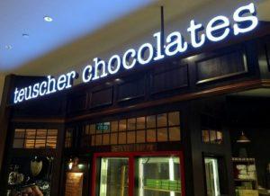 Teuscher Chocolates Capitol Piazza Singapore.