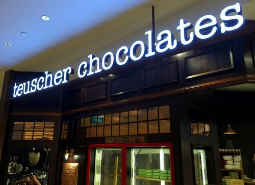 Teuscher Chocolates Capitol Piazza Singapore.