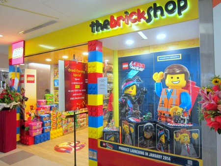 The Brick Shop Toy Stores in Singapore - SHOPSinSG