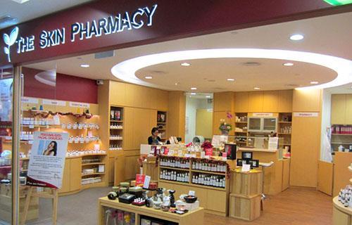 The Skin Pharmacy beauty store NEX Singapore.