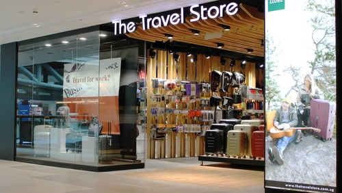 The Travel Store Plaza Singapura Singapore.