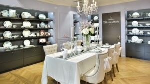 Villeroy & Boch tableware store Capitol Piazza Singapore.