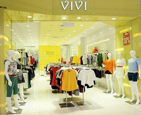 Vivi clothing shop Lot One Singapore.