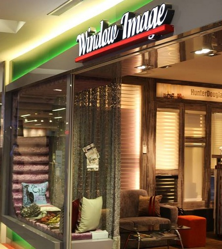 Window Image and Interior Furnishing store Singapore.