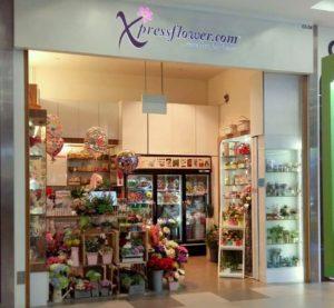Xpressflower.com flower shop NEX Singapore.