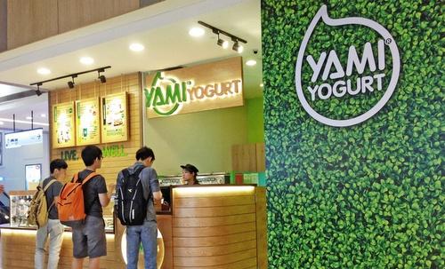Yami Yogurt shop Square 2 Singapore.