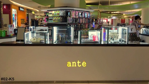 Ante shop VivoCity Singapore.