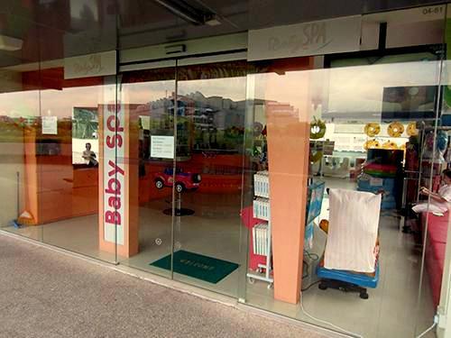 Baby Spa centre NEX Singapore.
