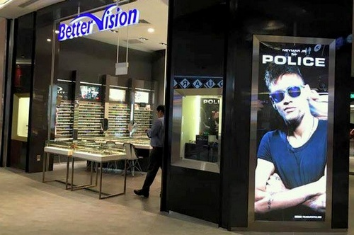 Better Vision optical store Waterway Point Singapore.