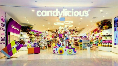 Candylicious candy shop VivoCity Singapore.