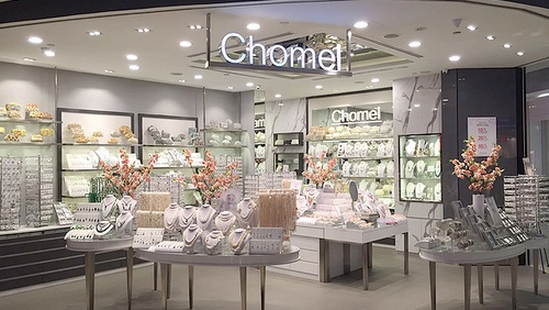 Chomel accessory shop Singapore.