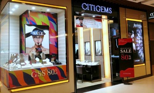 Citigems jewellery store Plaza Singapura Singapore.
