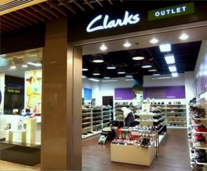 Clarks Factory Outlet shoe store IMM Singapore.