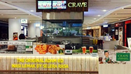 Crave restaurant VivoCity Singapore.