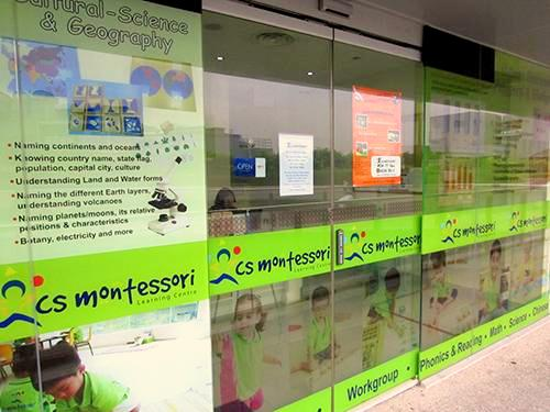 CS Montessori Kindergarten / Learning Centre NEX Singapore.