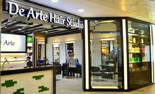 De Arte Hair Studio Singapore.