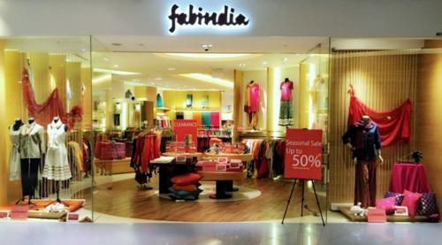Fabindia store Singapore.