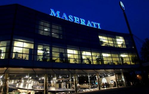 Hong Seh Motors Maserati dealership Singapore.