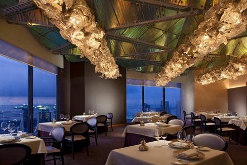 Jaan French restaurant Singapore.
