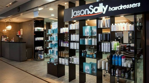 JasonSally Hairdressers hair salon NEX Singapore.