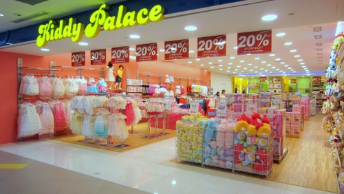 Kiddy Palace store NEX Singapore.