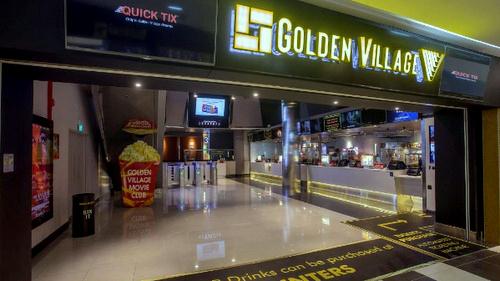 Golden Village cinema Tampines Singapore.