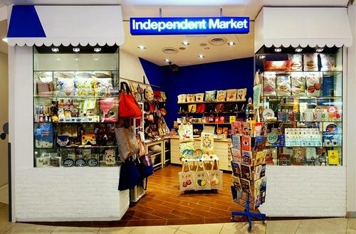 Independent Market gift shop VivoCity Singapore.