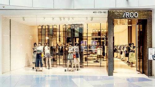 iROO clothing shop VivoCity Singapore.