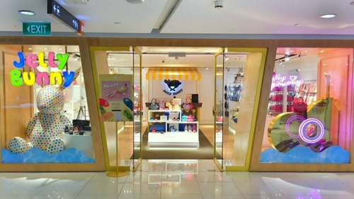 Jelly Bunny store Plaza Singapura Singapore.