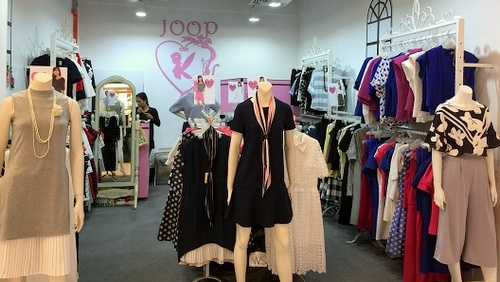 JOOP clothing store White Sands Singapore.