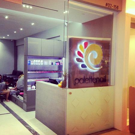 Palette Nail salon VivoCity Singapore.