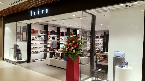 Pedro outlet store IMM Singapore.