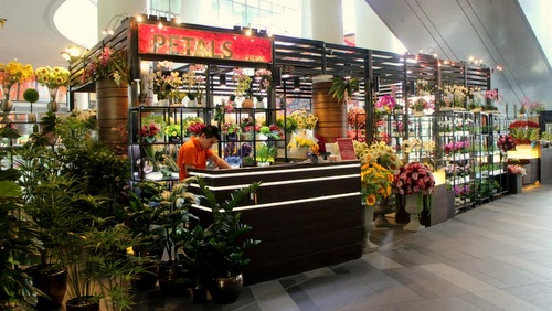 Petals by SF flower shop The Star Vista Singapore.