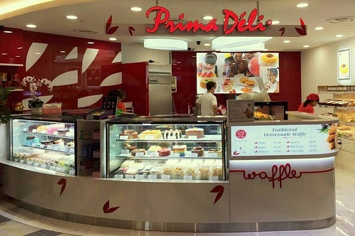 PrimaDéli bakery shop Compass One Singapore.