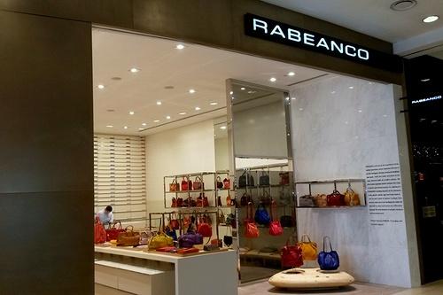 Rabeanco bag & accessory shop Raffles City Shopping Centre in Singapore.