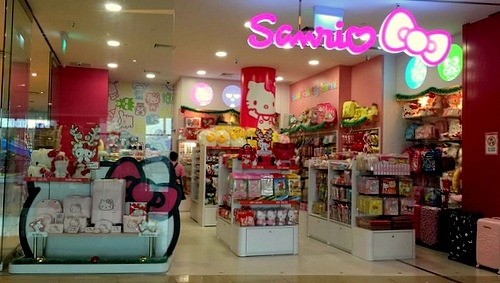 Sanrio Gift Gate shop VivoCity Singapore.