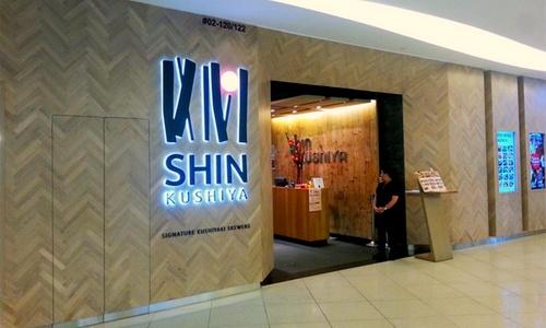 Shin Kushiya Japanese restaurant Singapore.